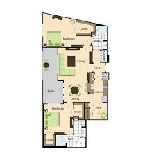 2 Bed 2 Bath Floor Plans by Floor Plans Phipps Place Luxury Buckhead Apartments In The Atlanta
