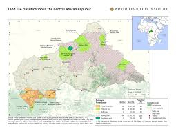 Interactive Map Of Africa by Land Use Classification And Logging Concessions In The Central