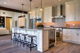 kitchen with stainless steel backsplash 57 luxury kitchen island designs pictures designing idea