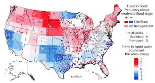 United States Map Weather by U S Flood Risk Is Basically A Wash Thanks To Changing Weather
