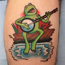 kermit the frog tattoo designs ideas 2017 2018