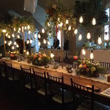 outdoor wedding lighting table lighting alpine event rentals