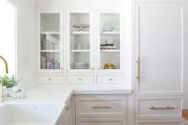 white kitchen cabinet handles white kitchen cabinets with long brass pulls transitional