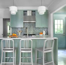 Teal Kitchen Cabinets Gray Green Kitchen Cabinets Design Ideas