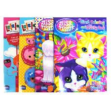 wholesale lisa frank lalaloopsy coloring books activit glw