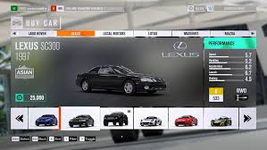 lexus lfa forza horizon 2 price forza horizon 3 car list all the vehicles in the base game and