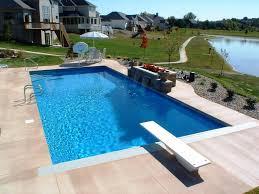 square swimming pool designs small yard inground swimming pools