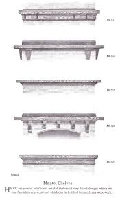 Fireplace Mantel Shelves Plans by 59 Best Bungalow Fireplaces Images On Pinterest Craftsman