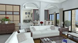 living room nature 3d interior scenes vol simple design cool