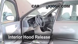 1999 Nissan Altima Interior Open Hood How To 1998 2001 Nissan Altima 1998 Nissan Altima Gxe