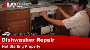 dishwasher repair u0026 diagnostic not starting kitchenaid