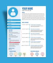Best Resume Outline 2017 by Free Fresh Creative Resume Cv Template Design Ai File Good Resume