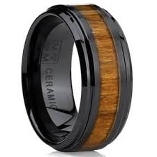 wedding band reviews brown men s wedding bands groom wedding rings for less