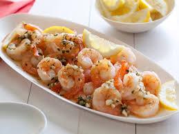 low cal savory shrimp scampi recipe