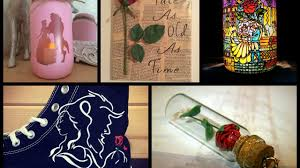 beauty and the beast crafts ideas youtube