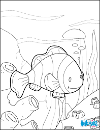 do you like to color online enjoy coloring this clown fish