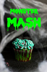 Monster Halloween Cupcakes Halloween Antidote Cupcake Central Freshly Baked Cupcakes In