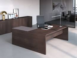 bureau de direction avec retour de direction asset avec retour secrétaire en verre