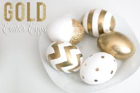 gold easter eggs kate spade inspired gold eggs ash and crafts