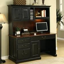 Office Furniture Desk Hutch Black Office Desk Hutch Fancy Computer Desk With Hutch Black