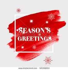 seasons greetings sign text stock vector 525368053
