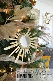 sunburst mirror ornament diy tutorial tatertots and jello