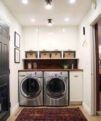 Storage Ideas For Small Bathrooms With No Cabinets by Before And After A Bathroom Turned Laundry Room Laundry Rooms