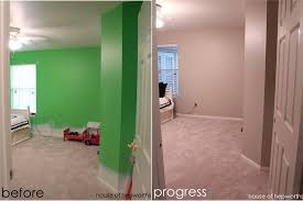 goodbye green another room gets painted