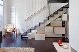 Simple Stairs Design For Small House Stair Simple And Neat Compact Staircase Design Ideas With Yellow
