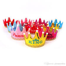birthday hats birthday party hat cap high end cloth party headdress princess