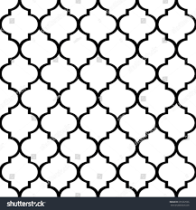 quatrefoil wrapping paper decorative geometric pattern quatrefoil background vector stock