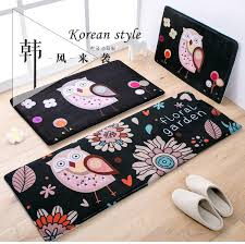 Owl Home Decor 45x120cm Cartoon Owl Home Decor Floor Mat Corridor Carpets Modern