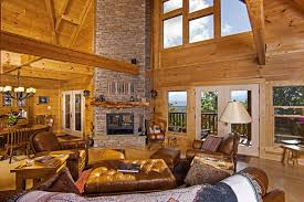 log home interior decorating ideas beautiful log cabin interior design ideas contemporary home