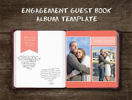 photo album guest book engagement guest book album template bp4u guides