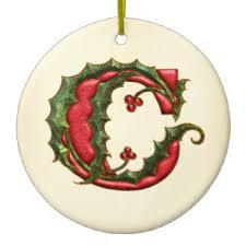 alphabet letter c monogram ornaments keepsake ornaments zazzle