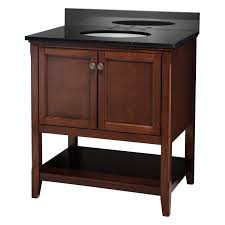 30 In Bathroom Vanity Foremost Georgette 30 In Single Bathroom Vanity Hayneedle