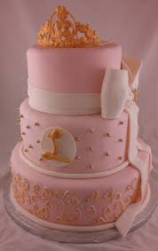 baby girl shower cake sugar spice pink and gold baby shower cake