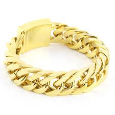 titanium steel bracelet images Hot 2016 fashion men 39 s masonic carve gold titanium steel bracelet jpg