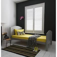 classic boston single bed in silk grey noa u0026 nani