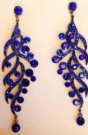 blue chandelier earrings royal blue chandelier earrings wardrobe blue