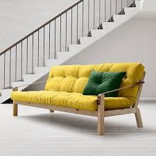 canap lit futon canapé lit futon karup 600 déco space