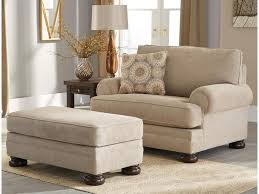 Ottoman Chair Benchcraft By Ashley Quarry Hill Chair And A Half U0026 Ottoman