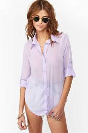 lilac blouse chiffon blouse lilac at gal