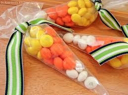 halloween bags to make m u0026m candy corn treat bags