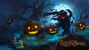 Monster Halloween by Wallpapers From Lolita777 Halloween Pumpkin Monster Evil Evil