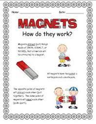 free magnet worksheet for kids kids prints worksheets and magnets