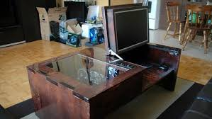 Diy Wood Computer Desk by 13 Elegant And Simple Diy Computer Desk Diy And Crafts