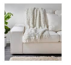 Ikea Faux Fur Throw Amazon Com Ikea Acrylic Throw Off White Home U0026 Kitchen