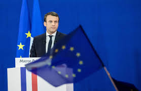 The France Flag French Election Victor Emmanuel Macron U0027s U0027new Deal U0027 For Europe