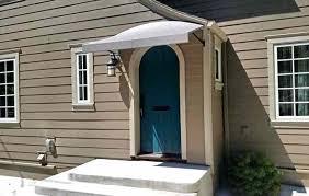 Exterior Door Awnings Front Door Awning Ideas Front Door Canopy Designs Front Door